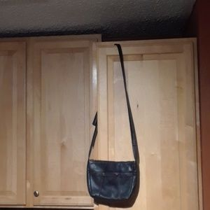 HOBO The Original Light Black Crossbody Bag